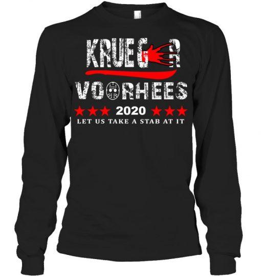 Krueger Voorhees 2020 Let us take a stab at it Long sleeve