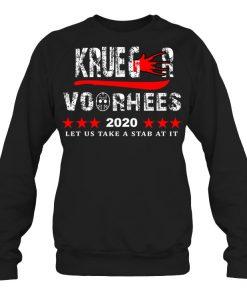 Krueger Voorhees 2020 Let us take a stab at it Sweatshirt