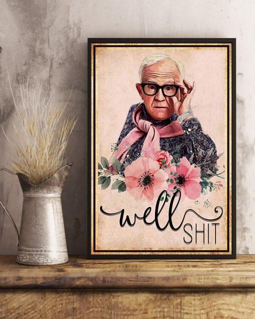 Leslie Jordan Well Shit poster3