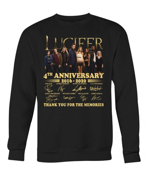 Lucifer 4th anniversary 2016-2020 Sweatshirt