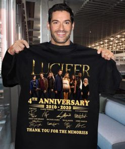 Lucifer 4th anniversary 2016-2020 shirt