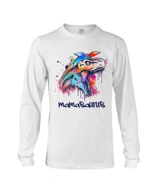 Mamasasurus Watercolour Dinosaur long sleeve