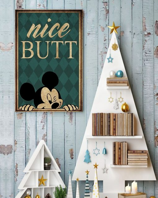 Mickey Mouse Nice butt poster3