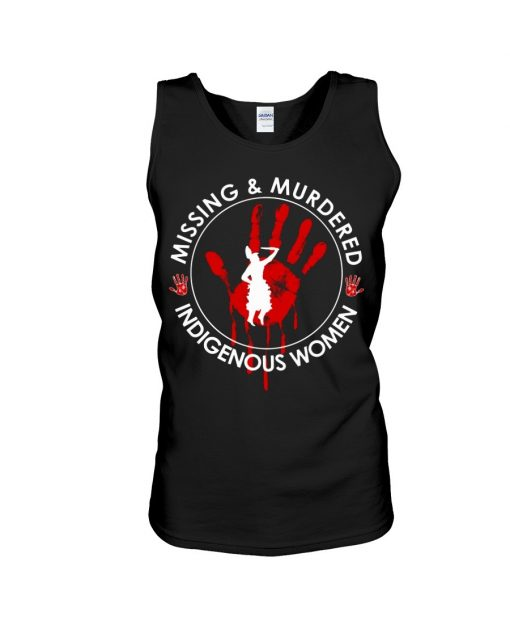 Missing murdered indigenous women Tank top