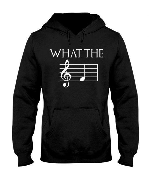 Musician What the fuck Music sheet Hoodie
