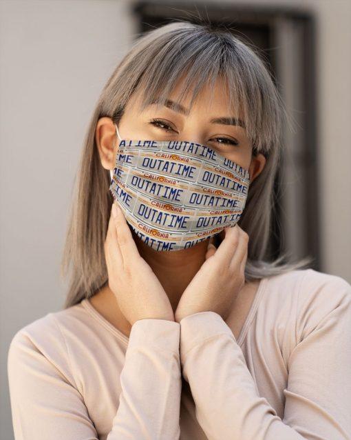 Outatime California face mask1