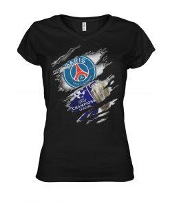 Paris Saint Germain UEFA Champions League V-neck