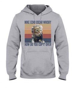 Pilot Cat Mike echo oscar whisky How do you copy over Hoodie