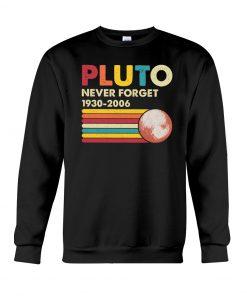 Pluto Never Forget 1930-2006 sweatshirt