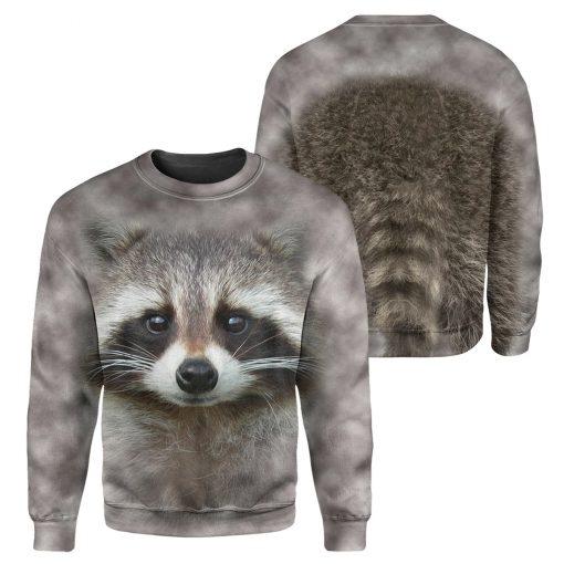 Raccoon - 3D All Over Printed Shirt Hoodie