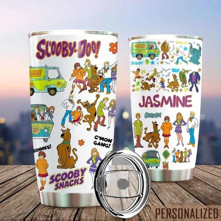 Scooby-Doo personalized tumbler 1