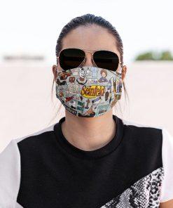 Seinfeld face mask2