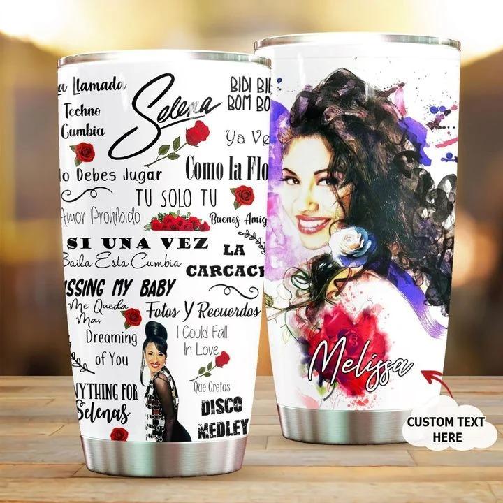 Selena Quintanilla-Pérez personalized tumbler 1