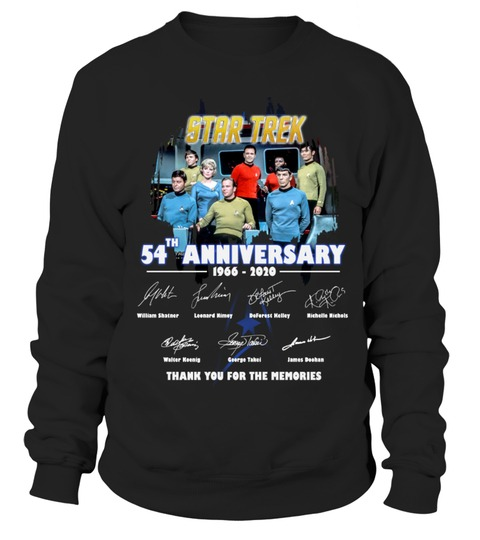 Star Trek 54th Anniversary Sweatshirt