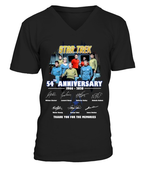Star Trek 54th Anniversary V-neck