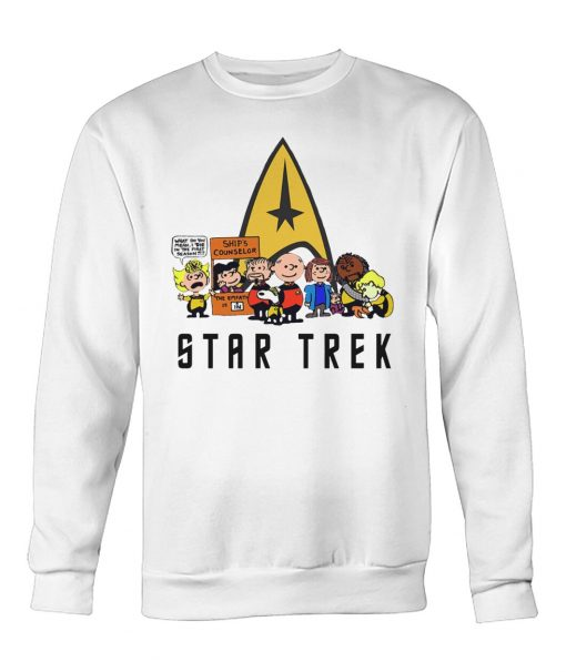 Star Trek What do you mean I die in the first season sweatshirt