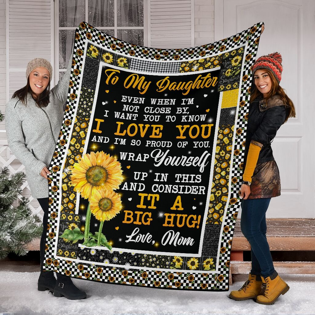 Sunflower To My Girlfriend I May Not Say It Enough 30/'/'-80/'/' Fleece Blanket