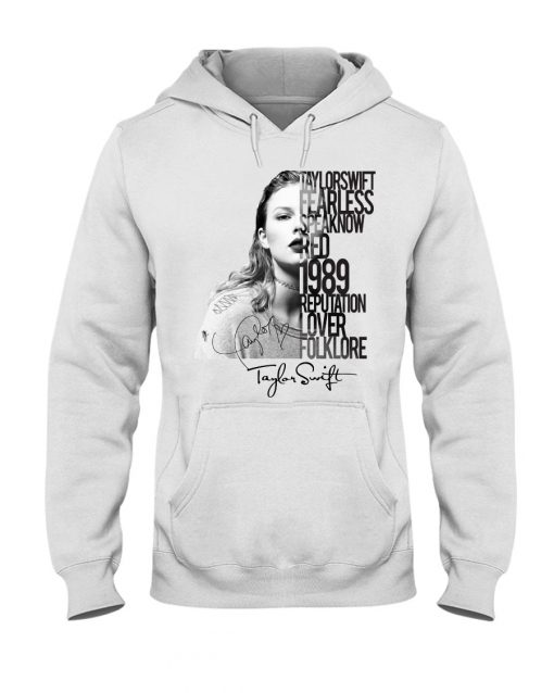 Taylor Swift Fearless Speak Now Red 1989 Reputation Lover Folklore hoodie