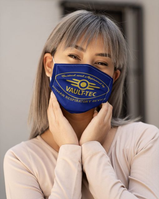 Tested and approved by Vault-Tec Human respiratory device face mask1