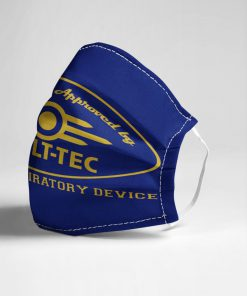 Tested and approved by Vault-Tec Human respiratory device face mask2
