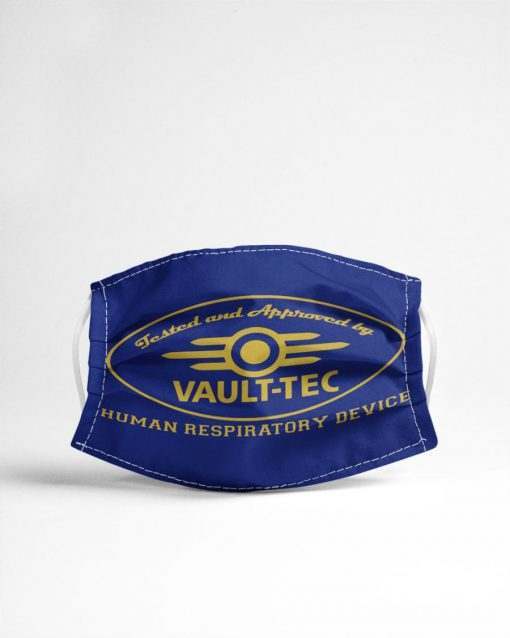 Tested and approved by Vault-Tec Human respiratory device face mask4