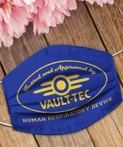 Tested and approved by Vault-Tec Human respiratory device face mask5
