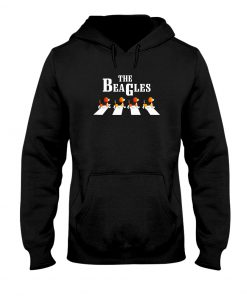The Beagles Dogs - The Beatles Abbey Road hoodie