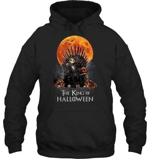 The King of Halloween Jack Skellington hoodie