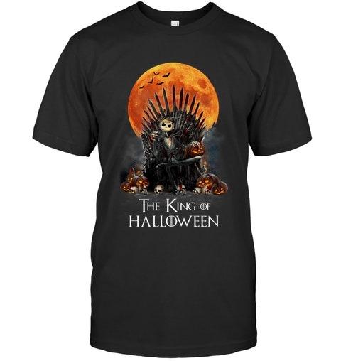 The King of Halloween Jack Skellington shirt