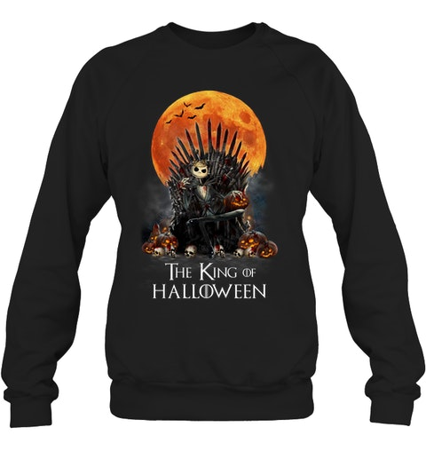 The King of Halloween Jack Skellington sweatshirt
