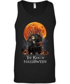 The King of Halloween Jack Skellington tank top