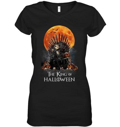 The King of Halloween Jack Skellington v-nekc