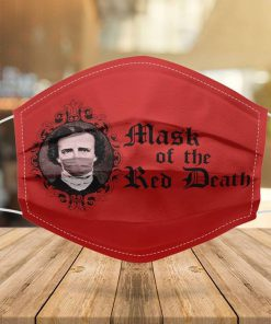 The Mask of the Red Death face mask 0