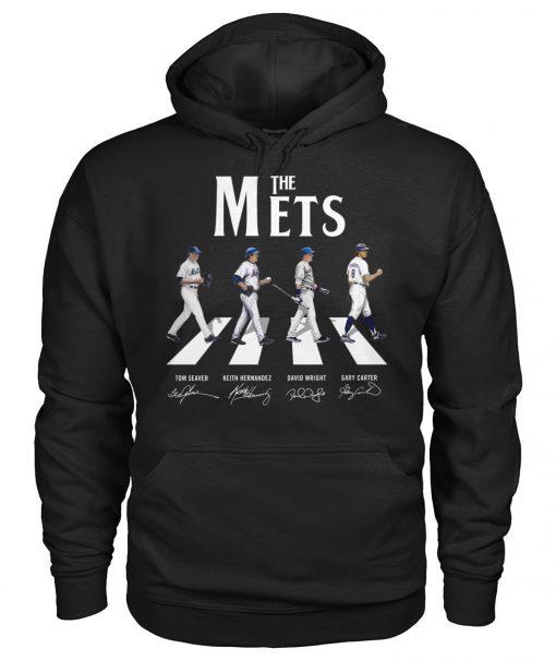 The New York Mets - The Beatles Abbey Road hoodie