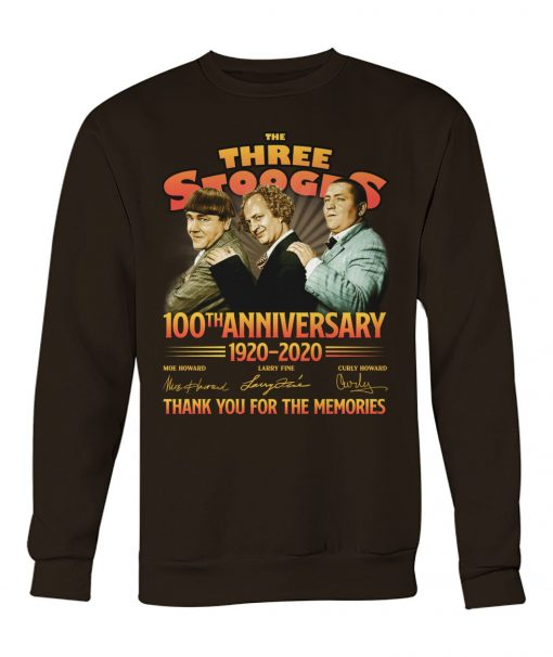 The Three Stooges 100th Anniversary 1920-2020 Sweatshirt