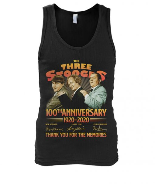 The Three Stooges 100th Anniversary 1920-2020 Tank top