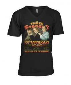 The Three Stooges 100th Anniversary 1920-2020 V-neck