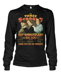 The Three Stooges 100th Anniversary 1920-2020 long sleeve