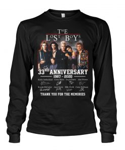 The lost boys 33rd Anniversary 1987-2020 long sleeved