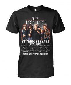 The lost boys 33rd Anniversary 1987-2020 shirt