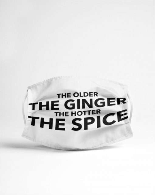 The older The ginger The hotter The spice face mask 3