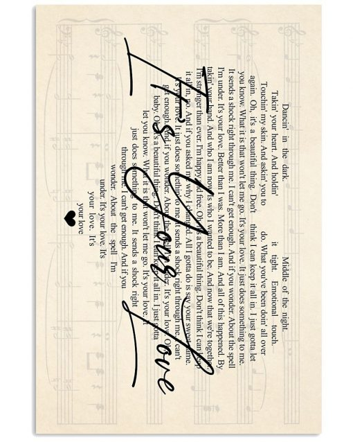Tim McGraw - It's Your Love lyrics poster1