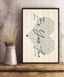 Tim McGraw - It's Your Love lyrics poster3