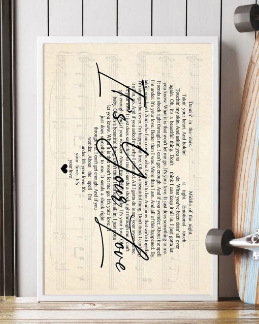 Tim McGraw - It's Your Love lyrics poster4