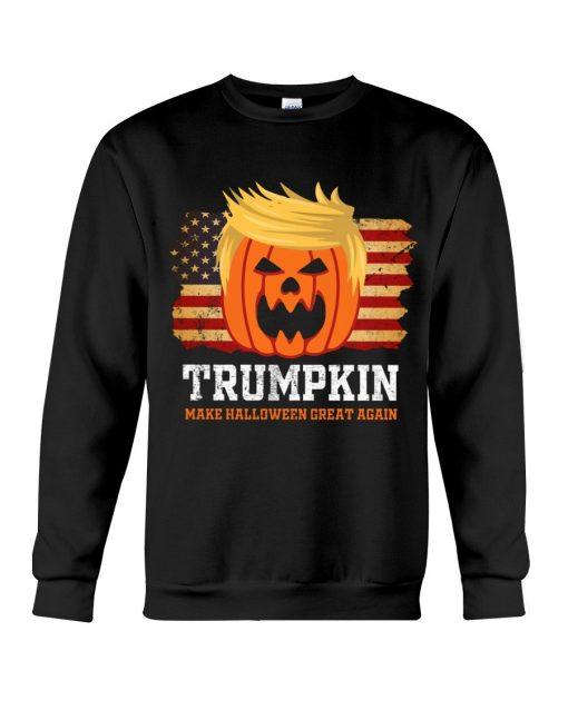 Trumpkin make halloween great again Sweatshirt