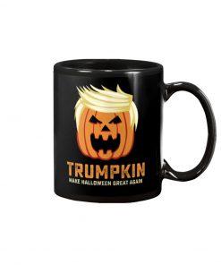 Trumpkin make halloween great again mug