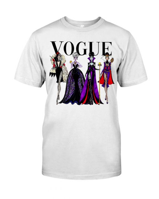 Vogue Evil Queens at Disneyland shirt