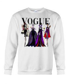 Vogue Evil Queens at Disneyland sweatshirt