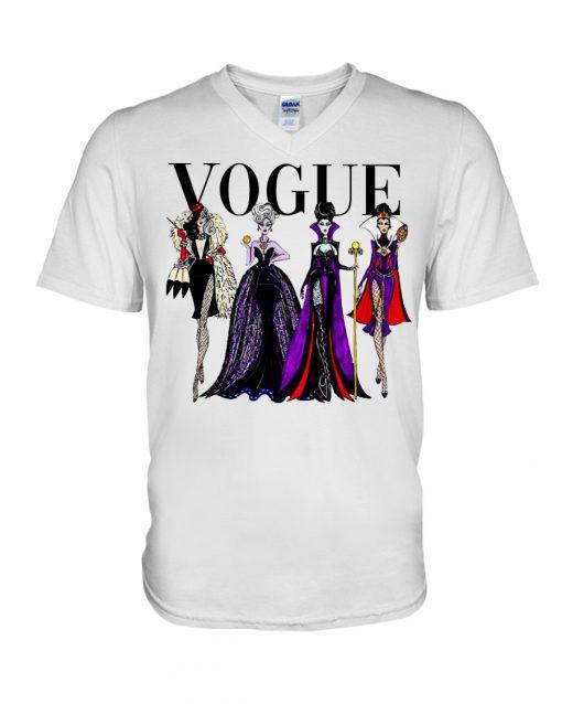 Vogue Evil Queens at Disneyland v-neck