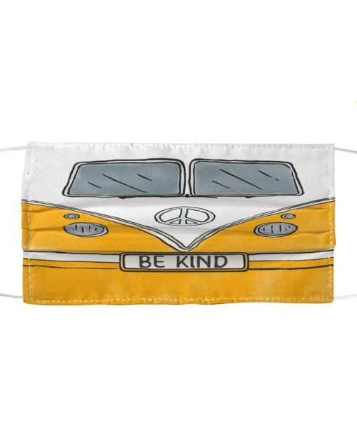 Volkswagen Hippie Be Kind Face mask1